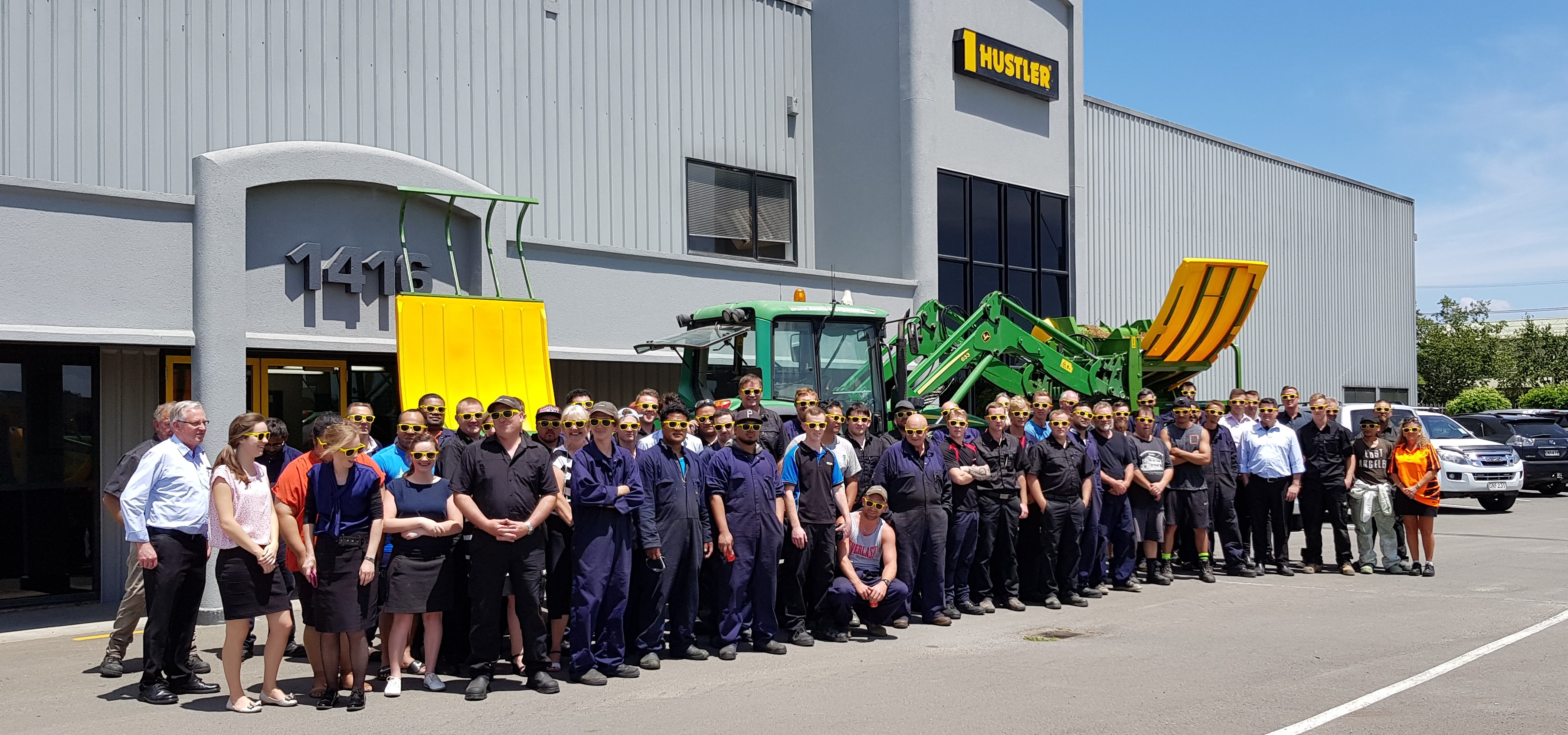 The North Island Hustler Team celebrate the release of 2 new bale feeders.jpg